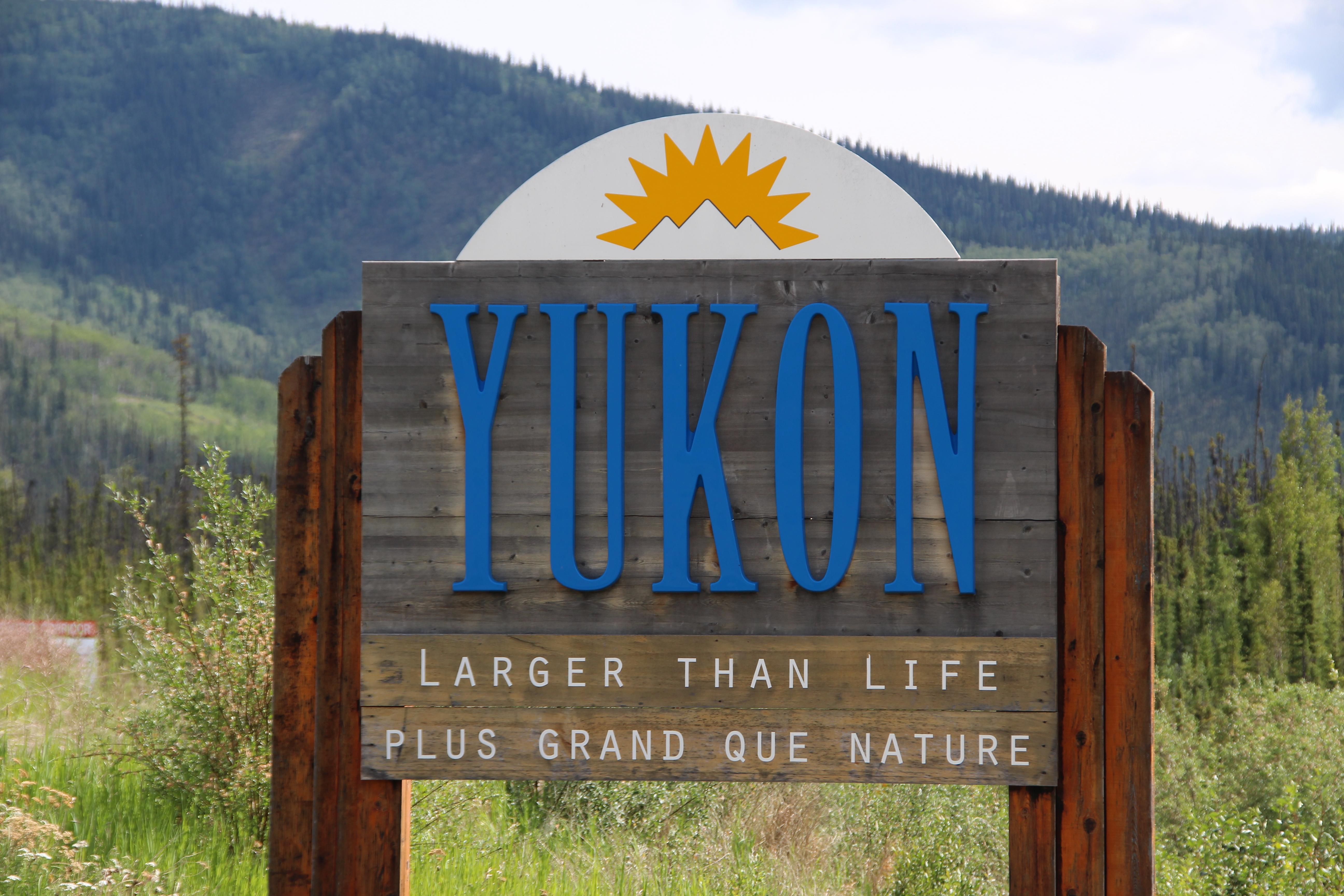 Schild Yukon