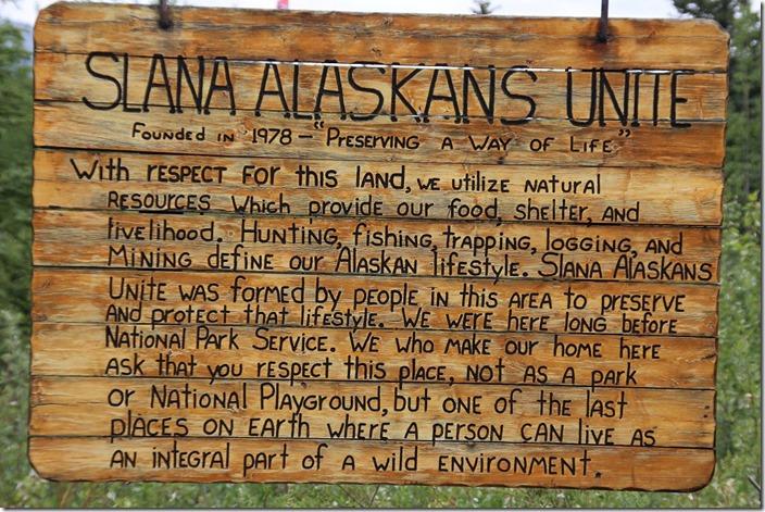 Richtung Tok am Alaska Highway