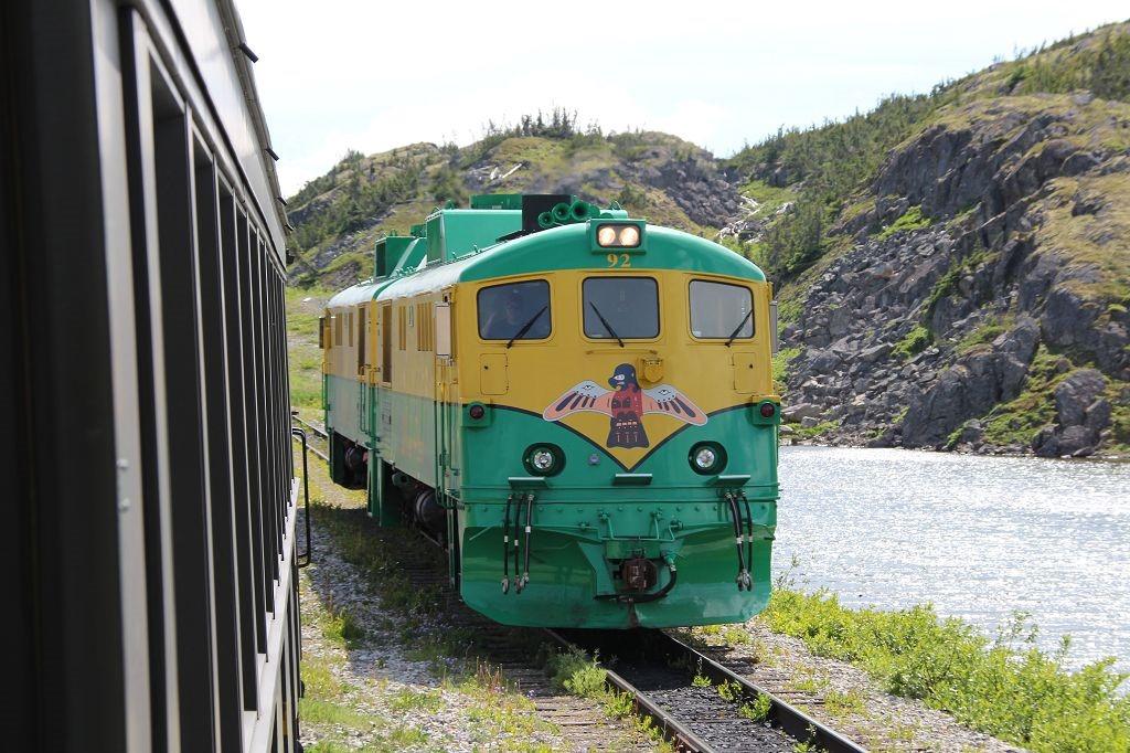 Lok der White Pass and Yukon Railway