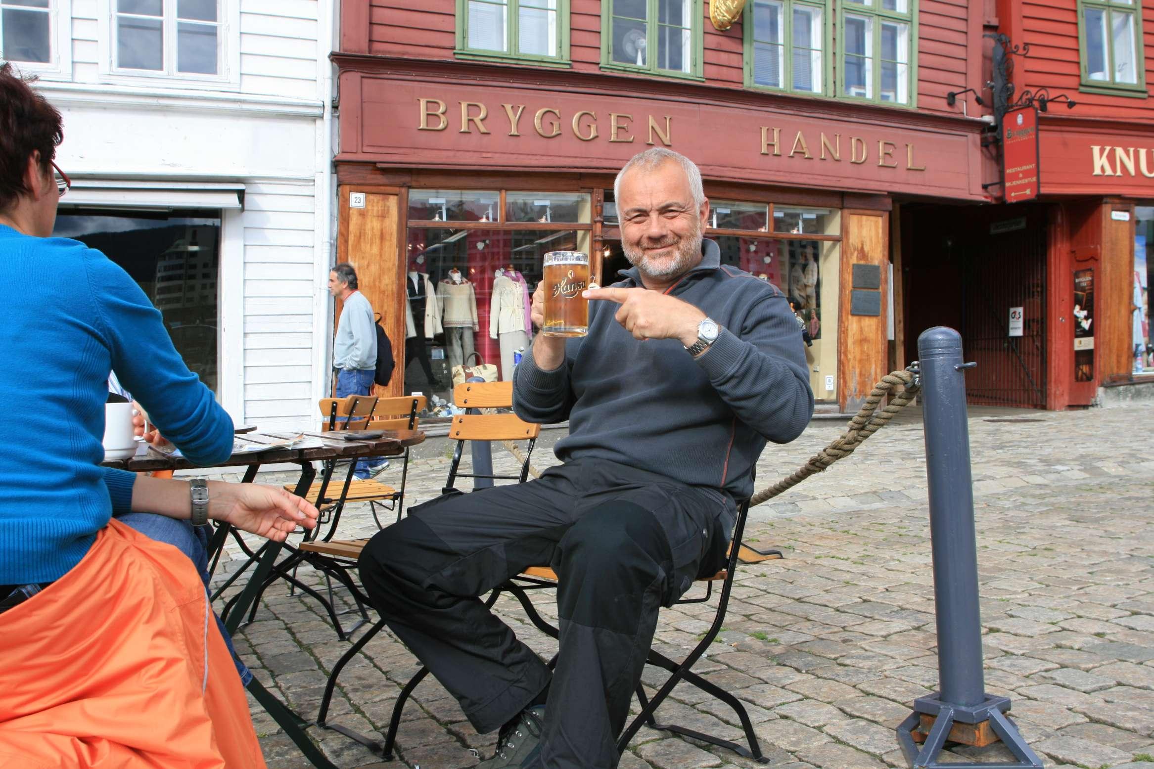 Bier in Bergen