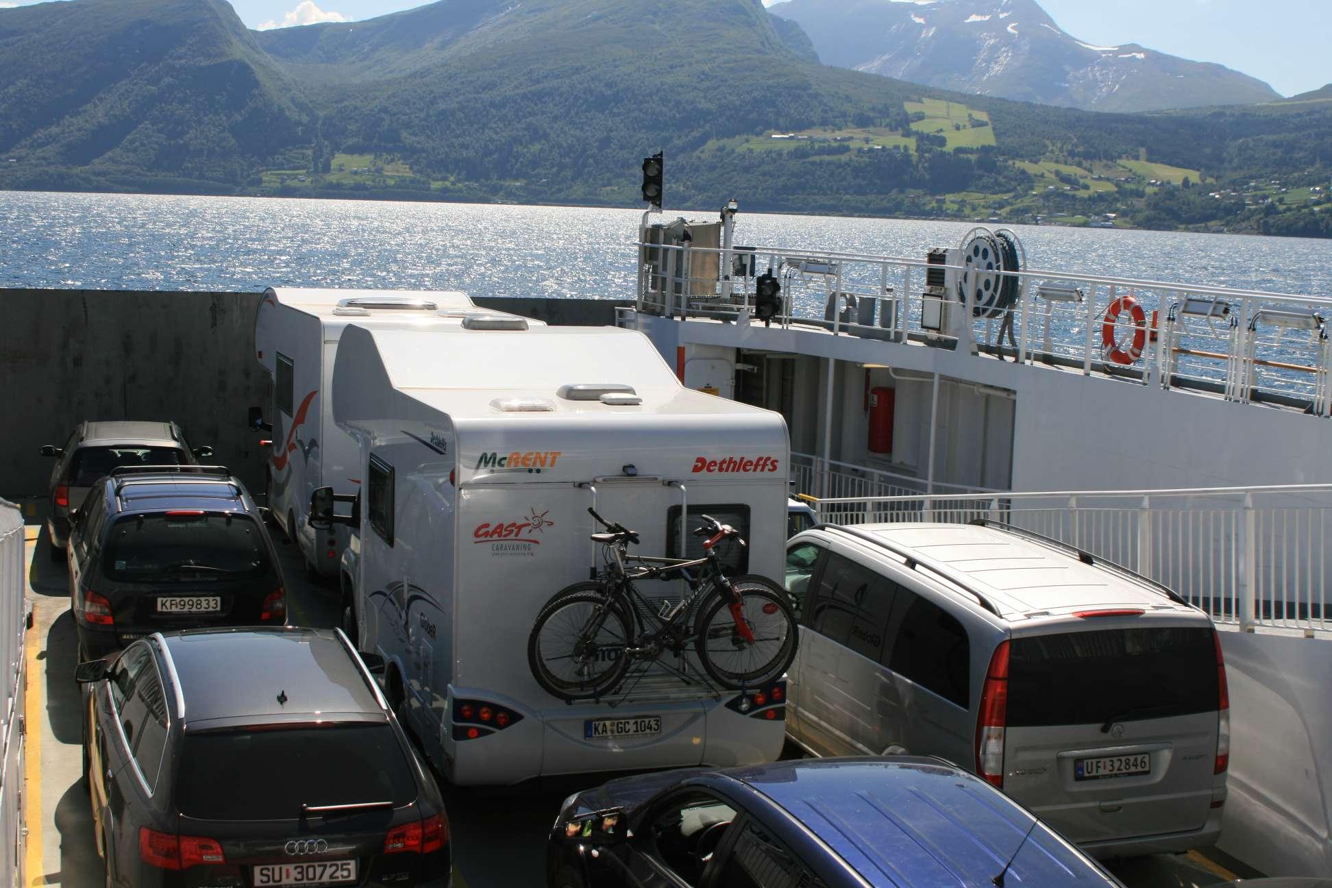 Fähre in Norwegen
